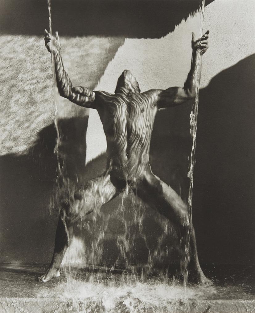 Herb Ritts-Waterfall Ii, Hollywood, 1988-1988