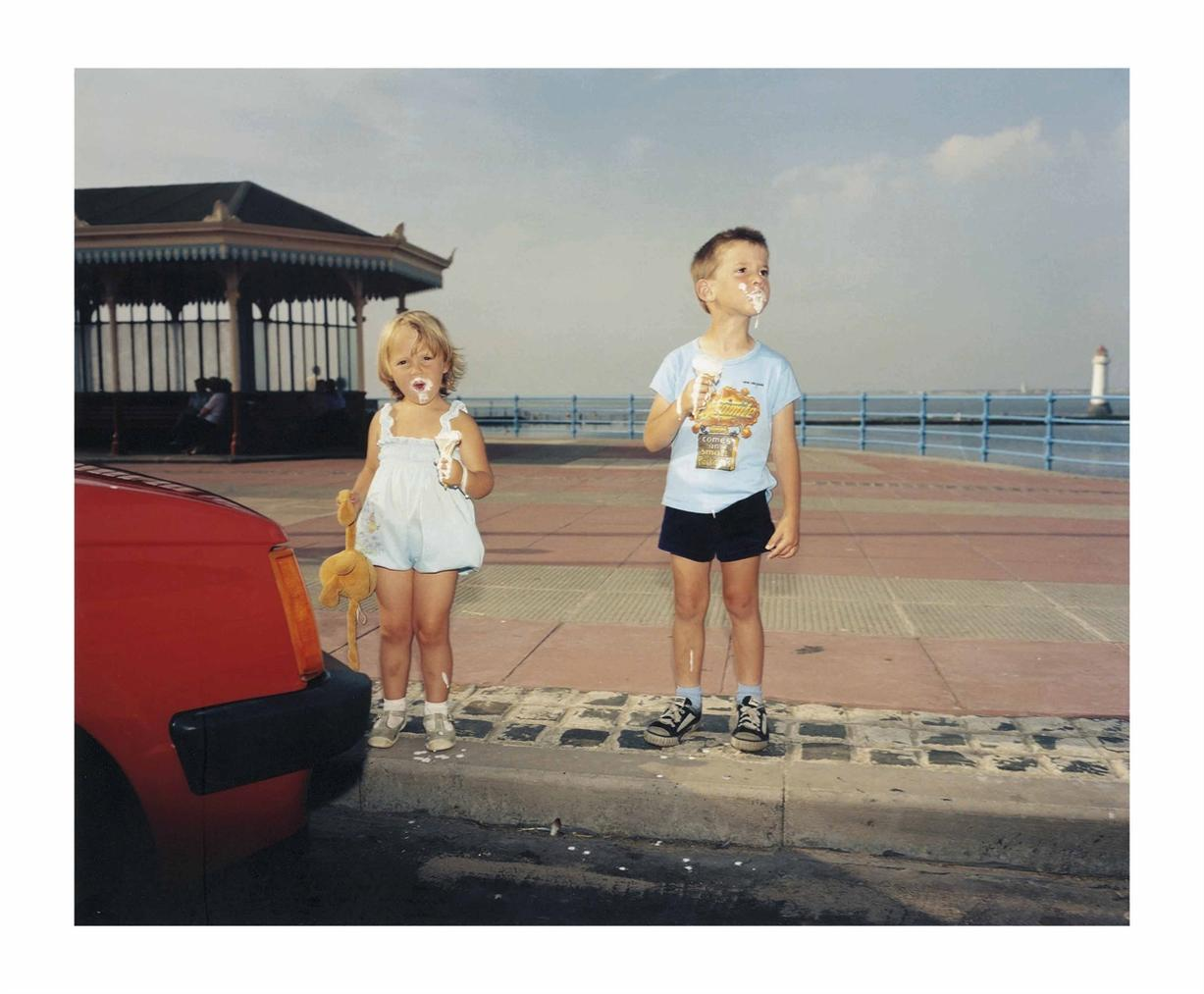 Martin Parr-Gb., England, New Brighton, From The Last Resort, 1983-1985-1985
