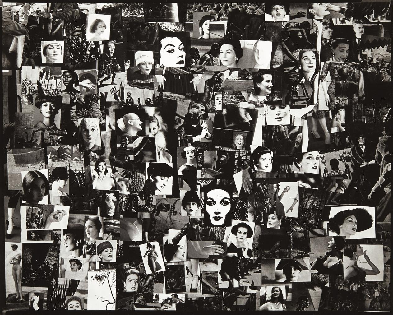 Harry Callahan-Collage, c. 1956-1956