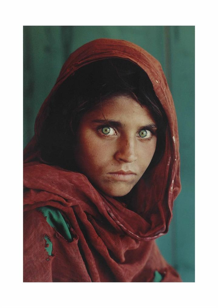 Steve McCurry-Afghan Girl, 1984-1984
