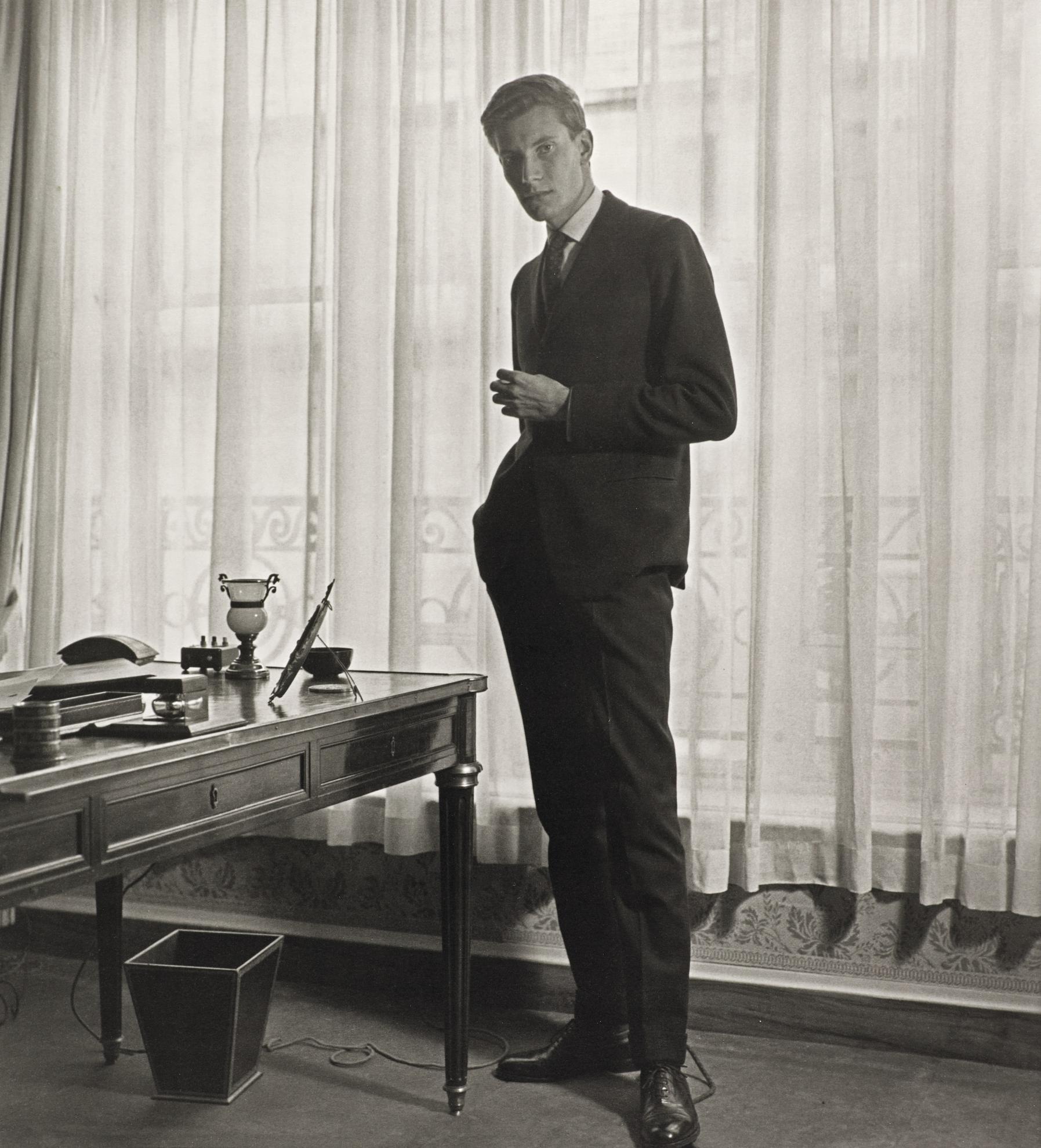 Horst P. Horst-Yves Saint Laurent At 'Diors', Paris, 1958-1958