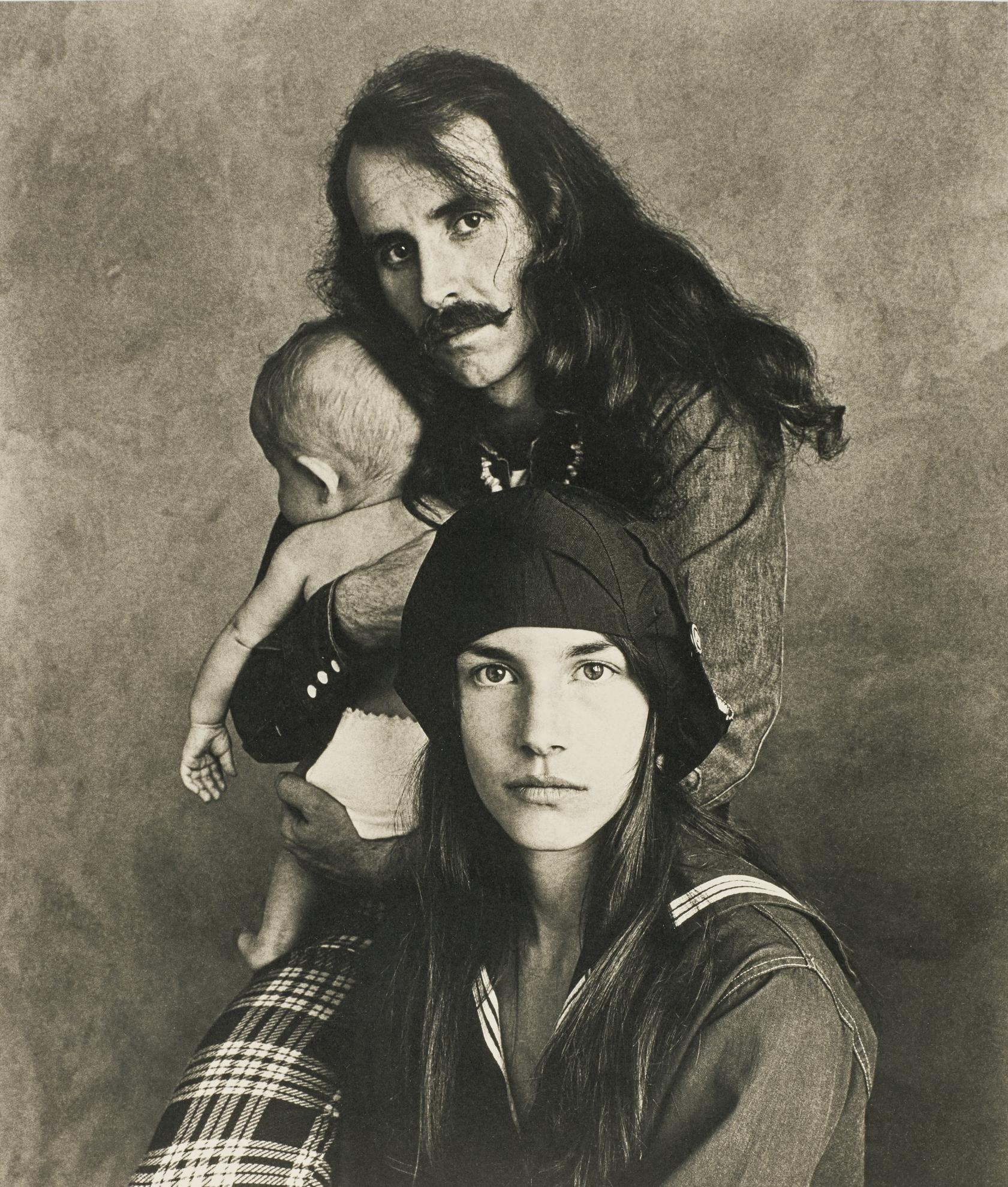 Irving Penn-Hippie Family (Kelly), San Francisco, 1967-1967