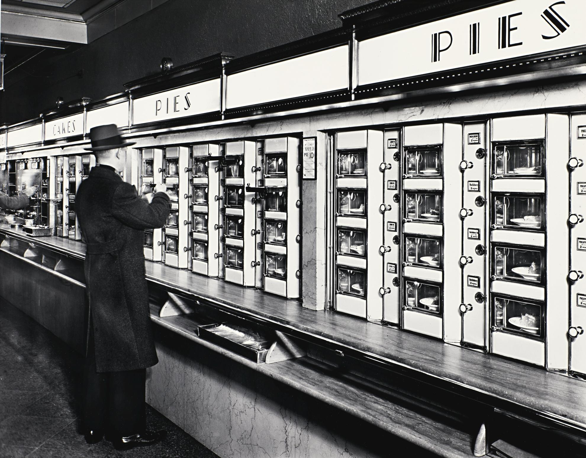 Berenice Abbott-Automat, New York, 1936-1936