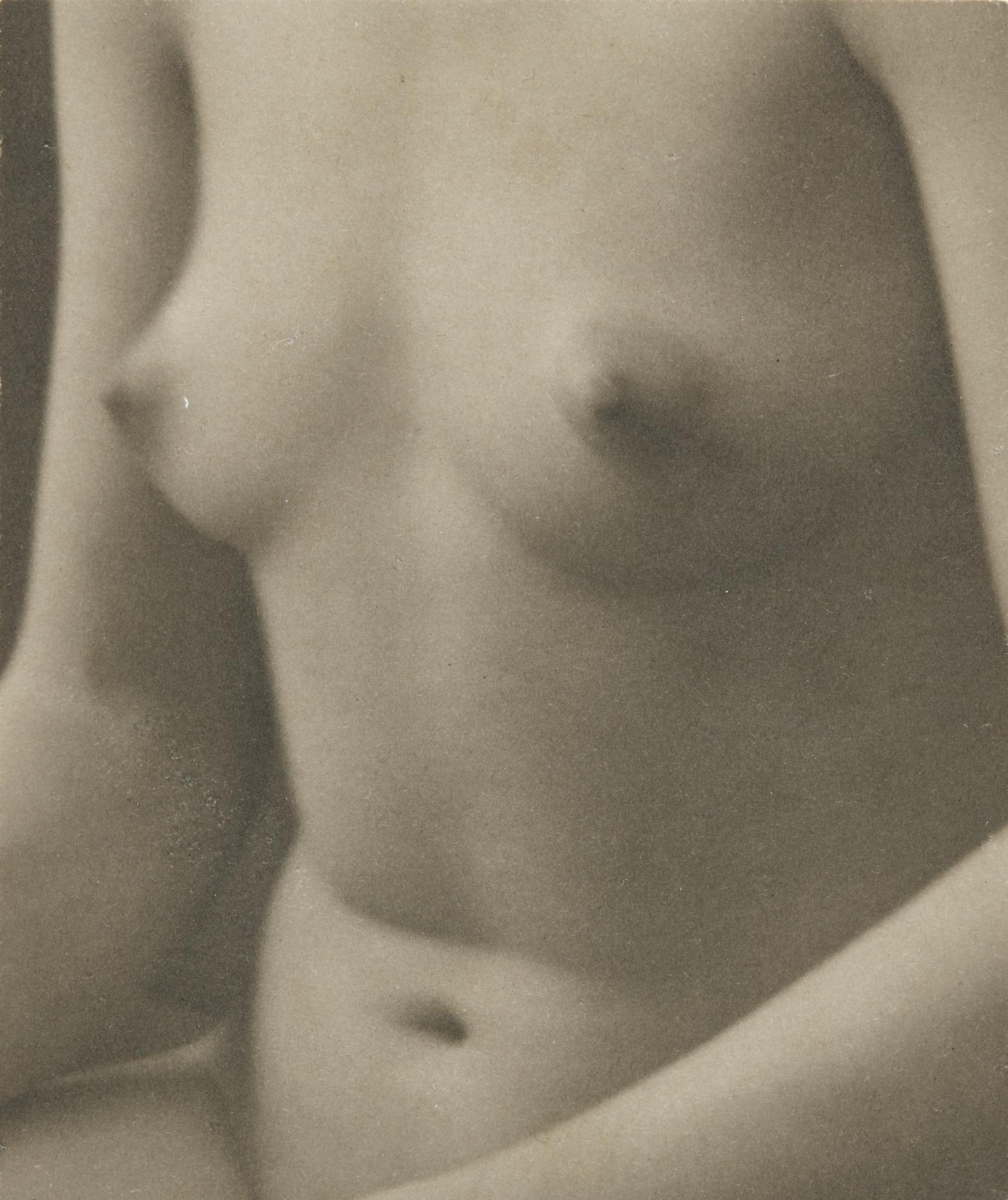 Paul Outerbridge-Nude Torso, Semi-Abstraction, 1923-1923