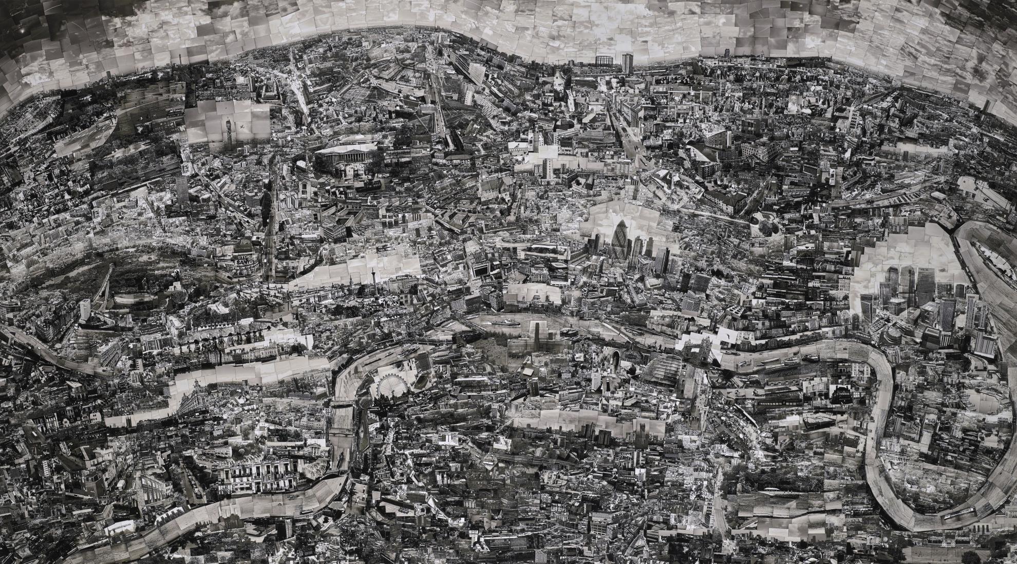 Sohei Nishino - Diorama Map, London, 2010-2010