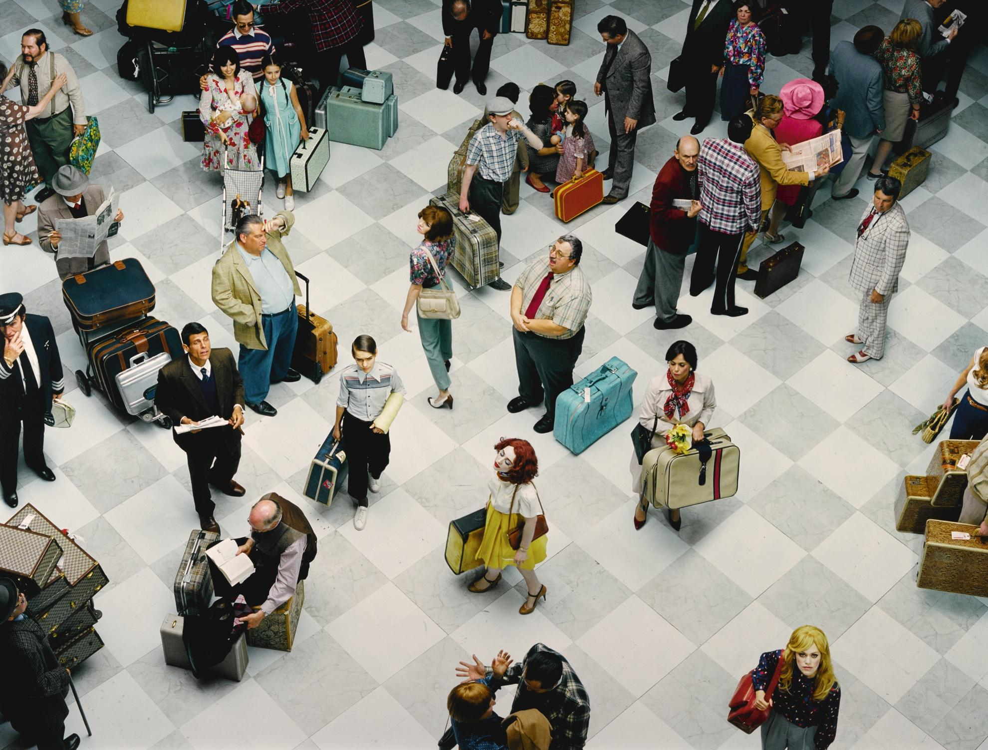 Alex Prager-Crowd #7 (Bob Hope Airport), 2013-2013