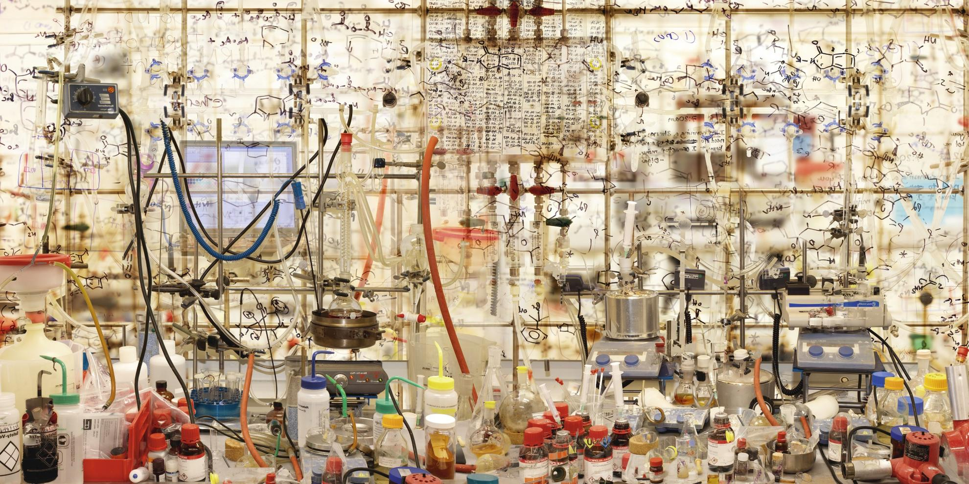 Marcus Lyon-Optogenome I - How Do Chemicals Feel, 2011-2011