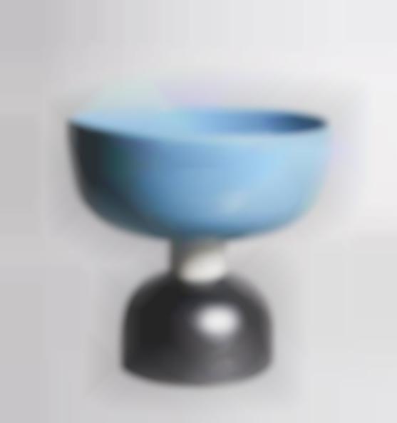 Ettore Sottsass-Large ceramic dish-1991