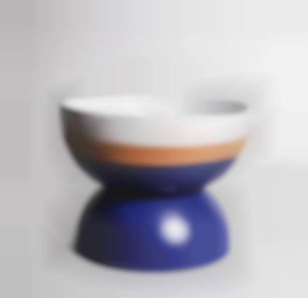 Ettore Sottsass-Bowl model Bolo-1991