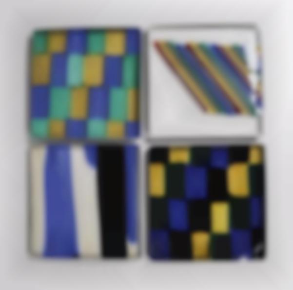 Set of 16 tiles-