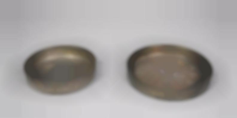 1 pair of Saucers-1960