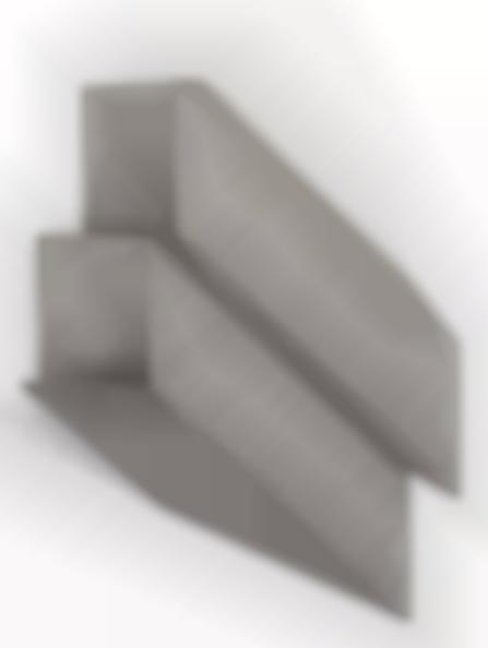 Giuseppe Uncini-Shadow of two parallelepipeds-1974