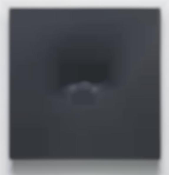 Turi Simeti-Black oval-1984