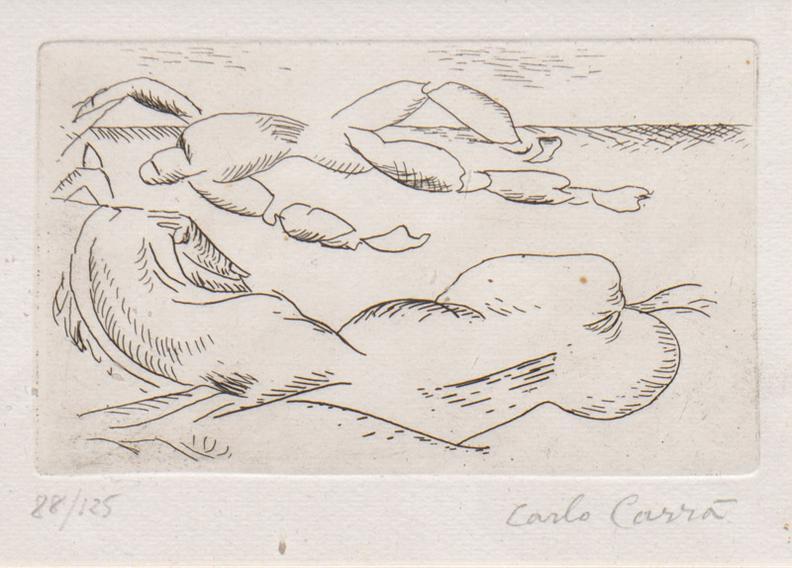 Carlo Carra-Untitled-1957