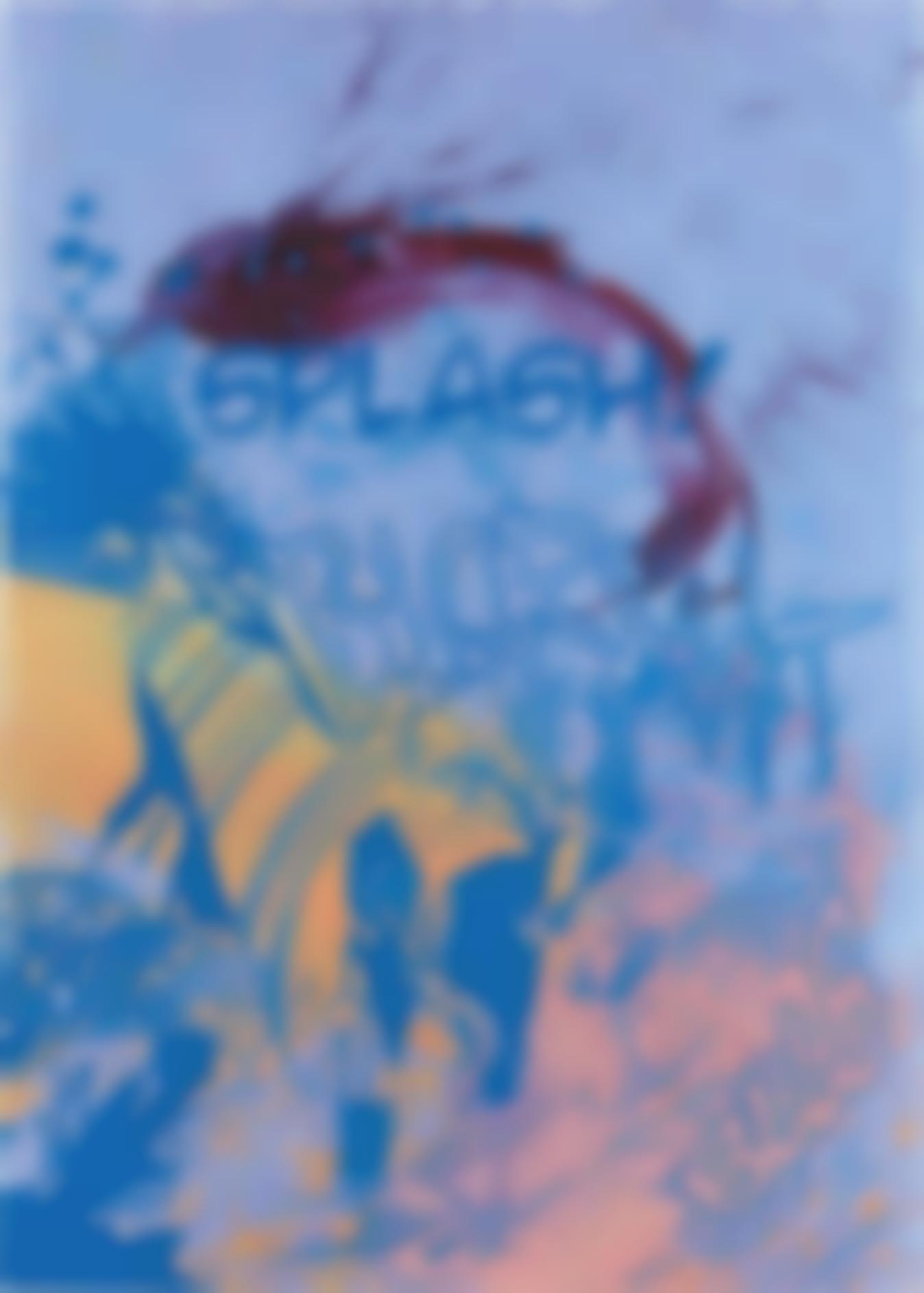 Christian Marclay-Actions (Splash, Blorsht, Bllb On Blue)-2012