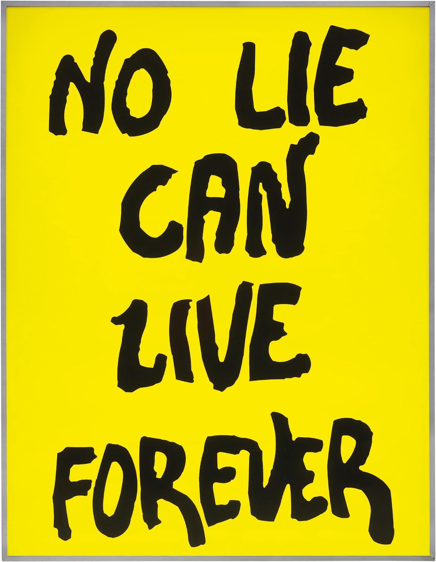 Sam Durant-No Lie Can Live Forever-2003