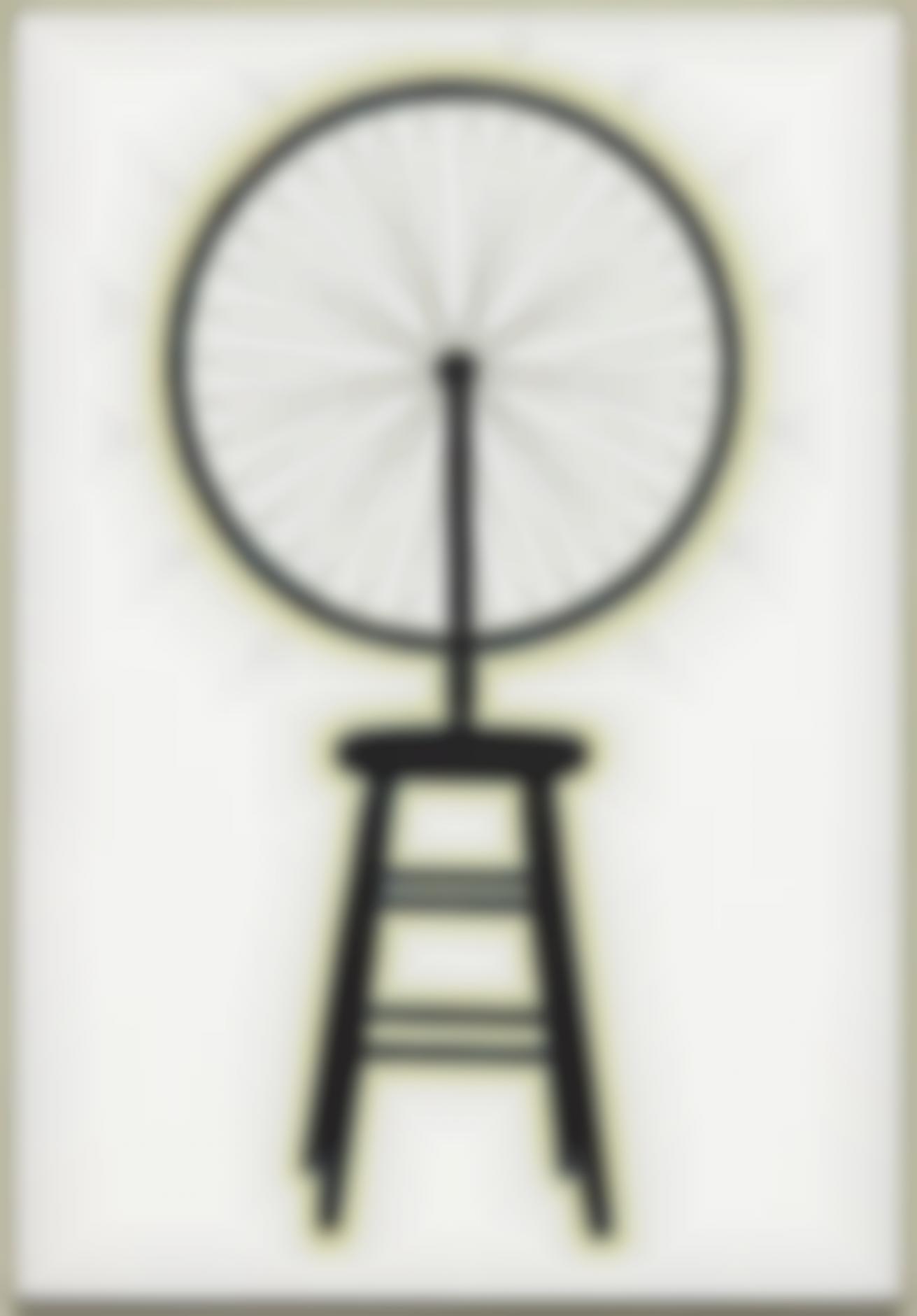 Richard Pettibone-Marcel Duchamp, Bicycle Wheel, 1913-1964-2001