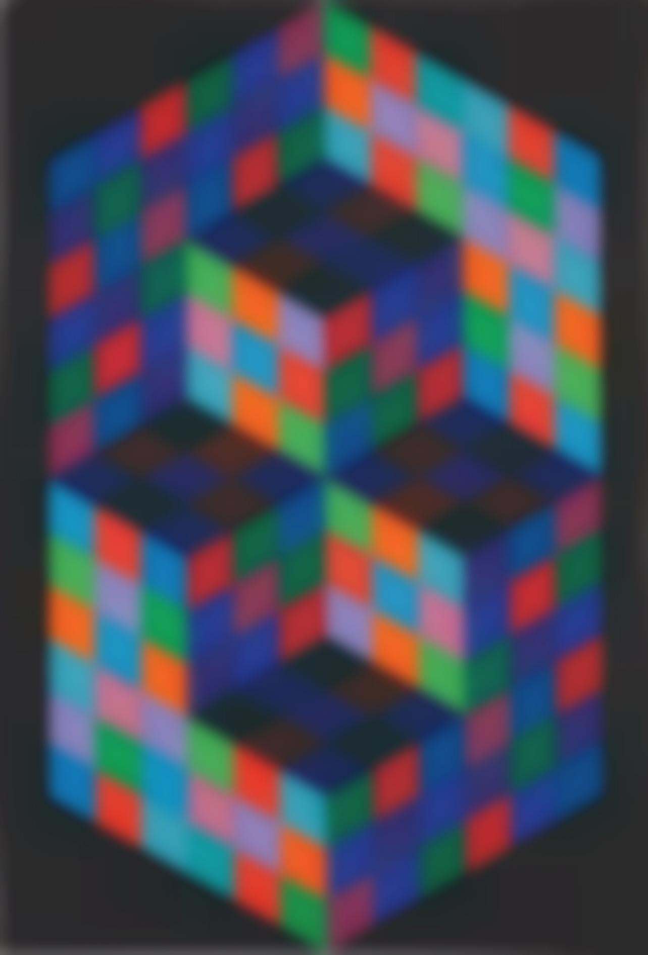 Victor Vasarely-Gesalt-Sin-1969