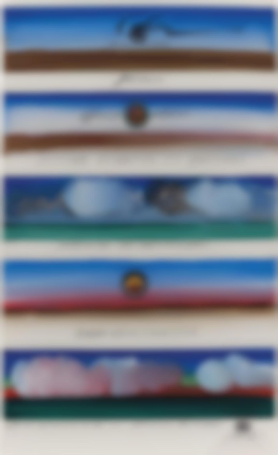 Saul Steinberg-Certified Landscapes-1968