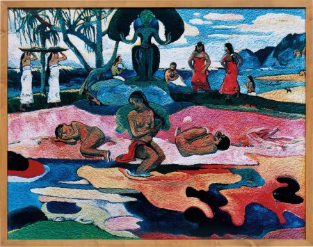 Vik Muniz-Day Of The Gods (Mahana No Atua), After Gauguin (From Pictures Of Pigment)-2006