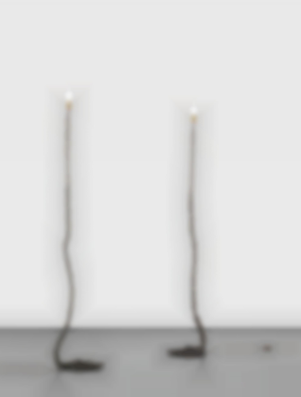 Franz West-Two Works: (i-ii) Privat-Lampe Des Kunstlers II-1989