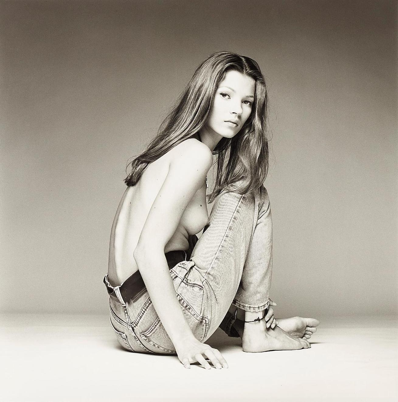Patrick Demarchelier-Kate Moss, New York-1992