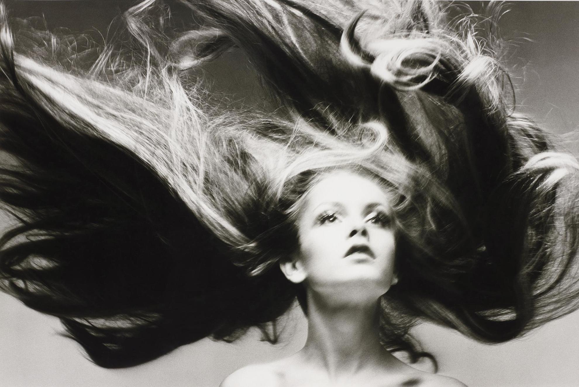 Richard Avedon-Twiggy, Hair By Ara Gallant, Paris Studio, January-1968