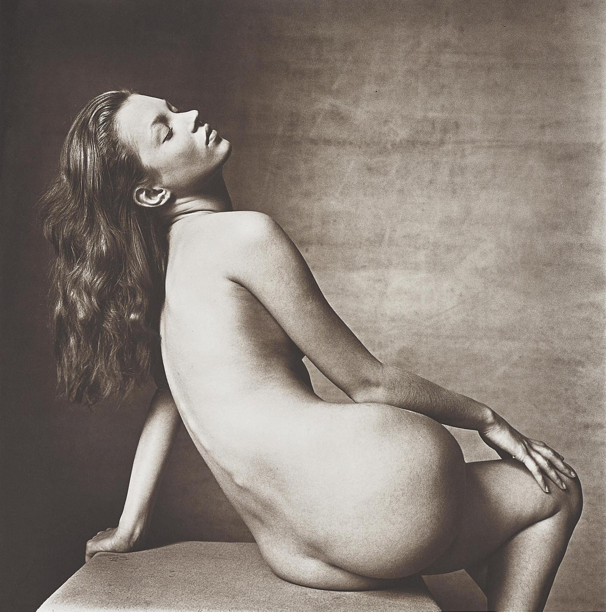 Irving Penn-Kate Moss, New York-1996