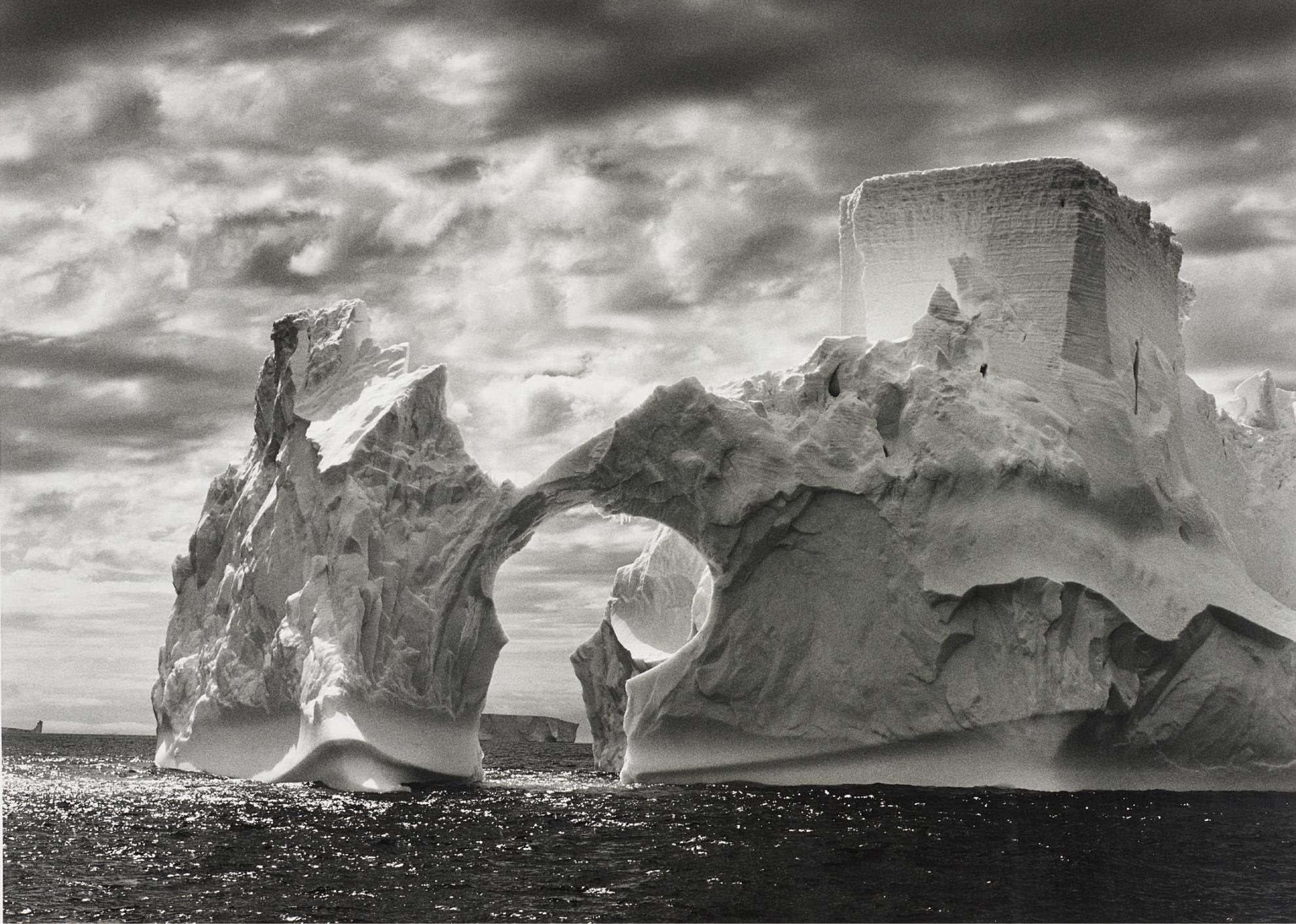 Sebastiao Salgado-Iceberg Between The Paulet Island And The South Shetland Islands, Antarctica-2005