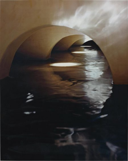 James Casebere-Four Flooded Arches From Right-1999