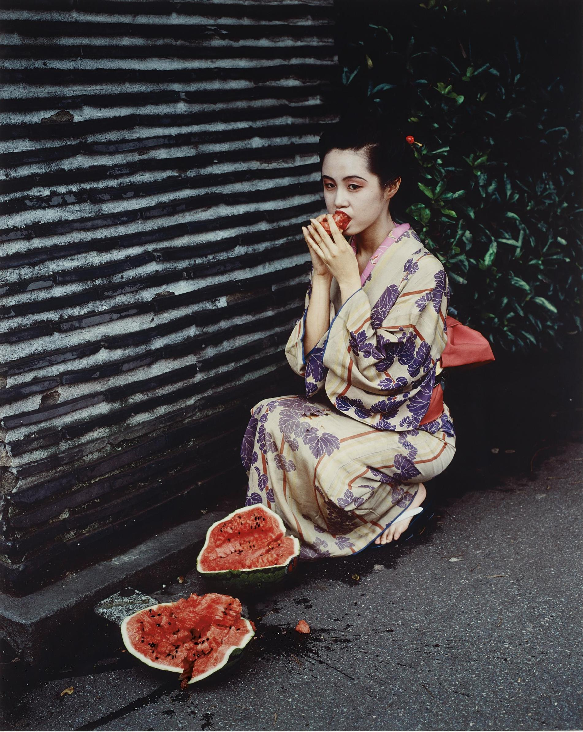 Nobuyoshi Araki-Untitled From Colourscapes-1991