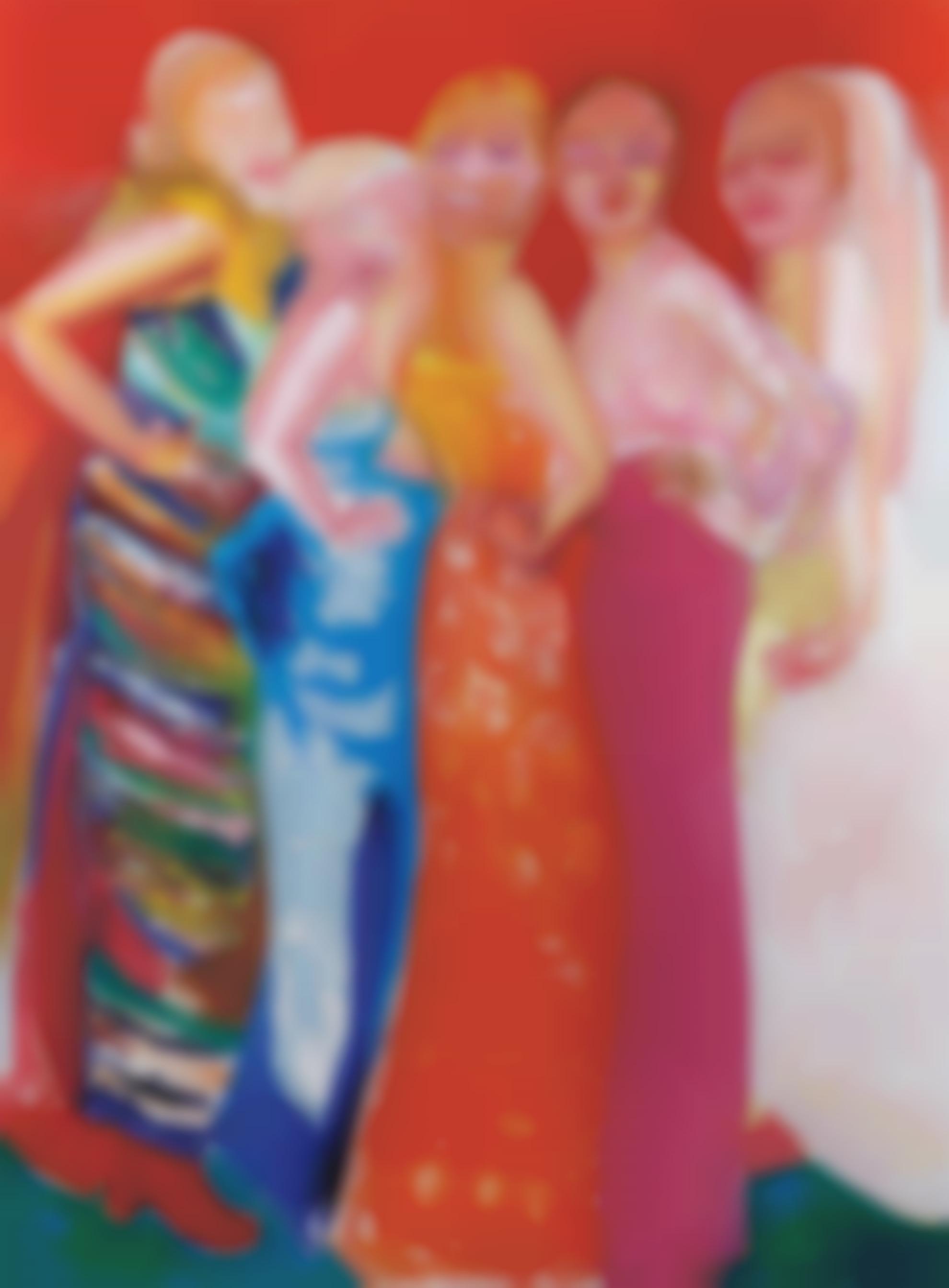 Marlene Dumas-Colorfields-1997