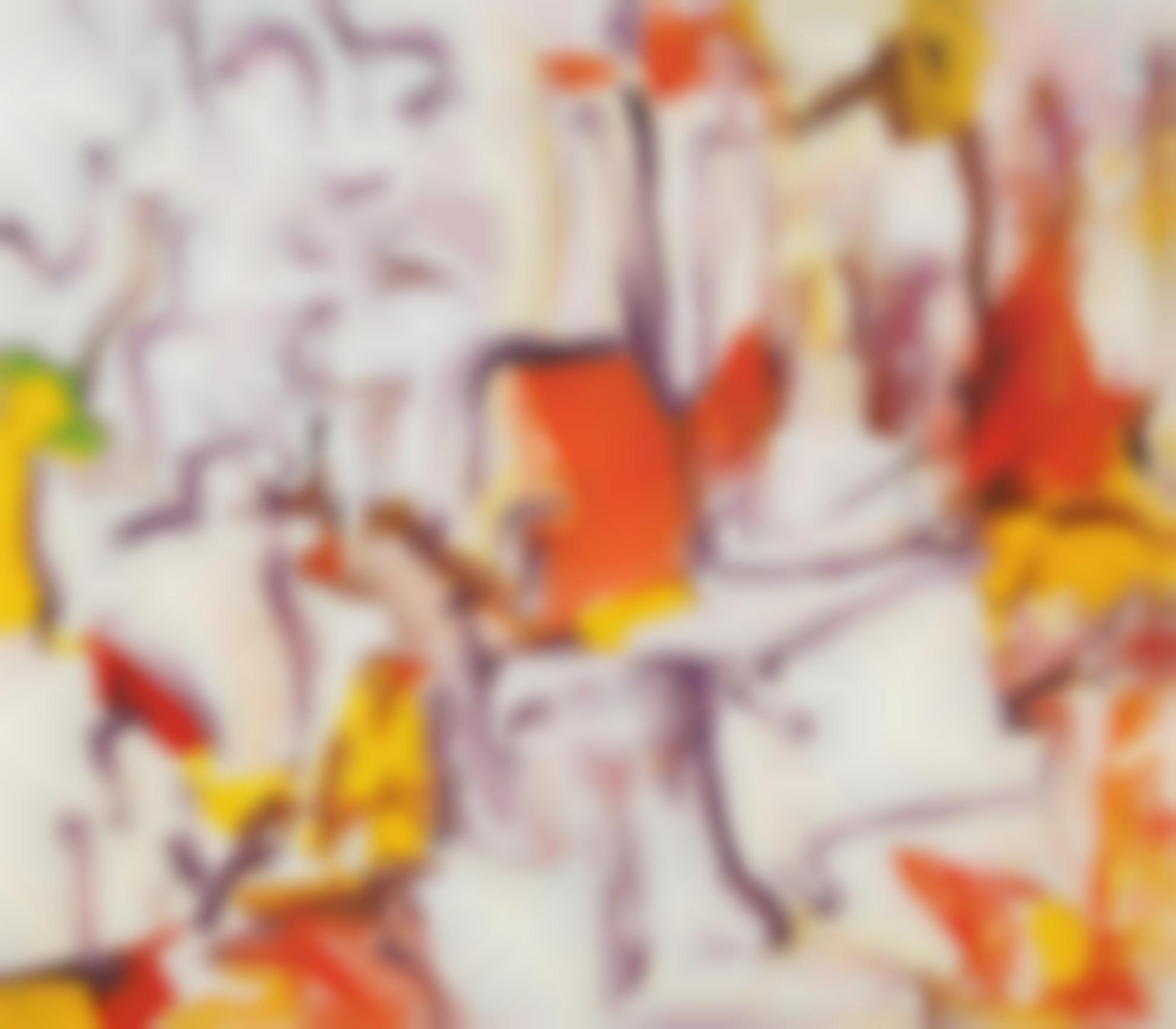 Willem de Kooning-Untitled II-1980