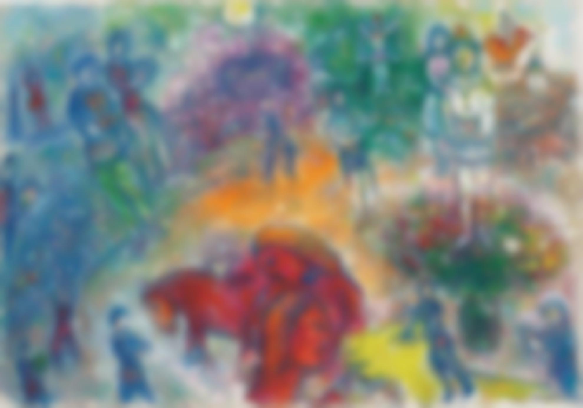 Marc Chagall-La Joie Au Cirque-1983