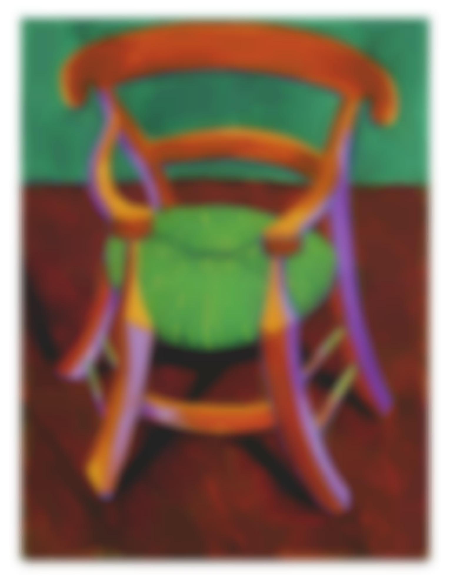 David Hockney-Gauguins Chair-1988