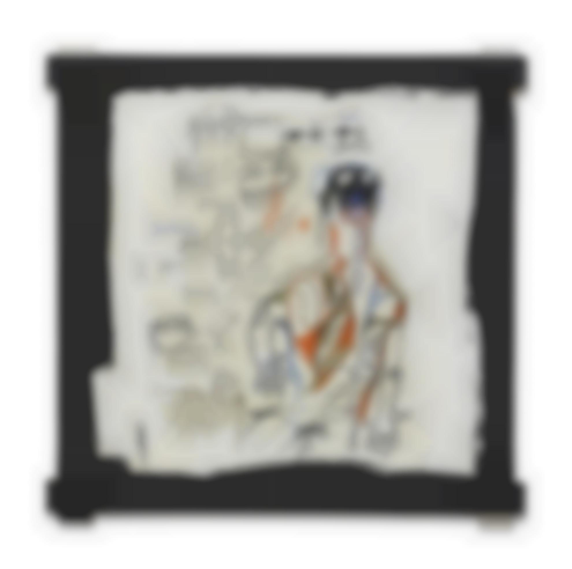 Jean-Michel Basquiat-Santo 4-1982
