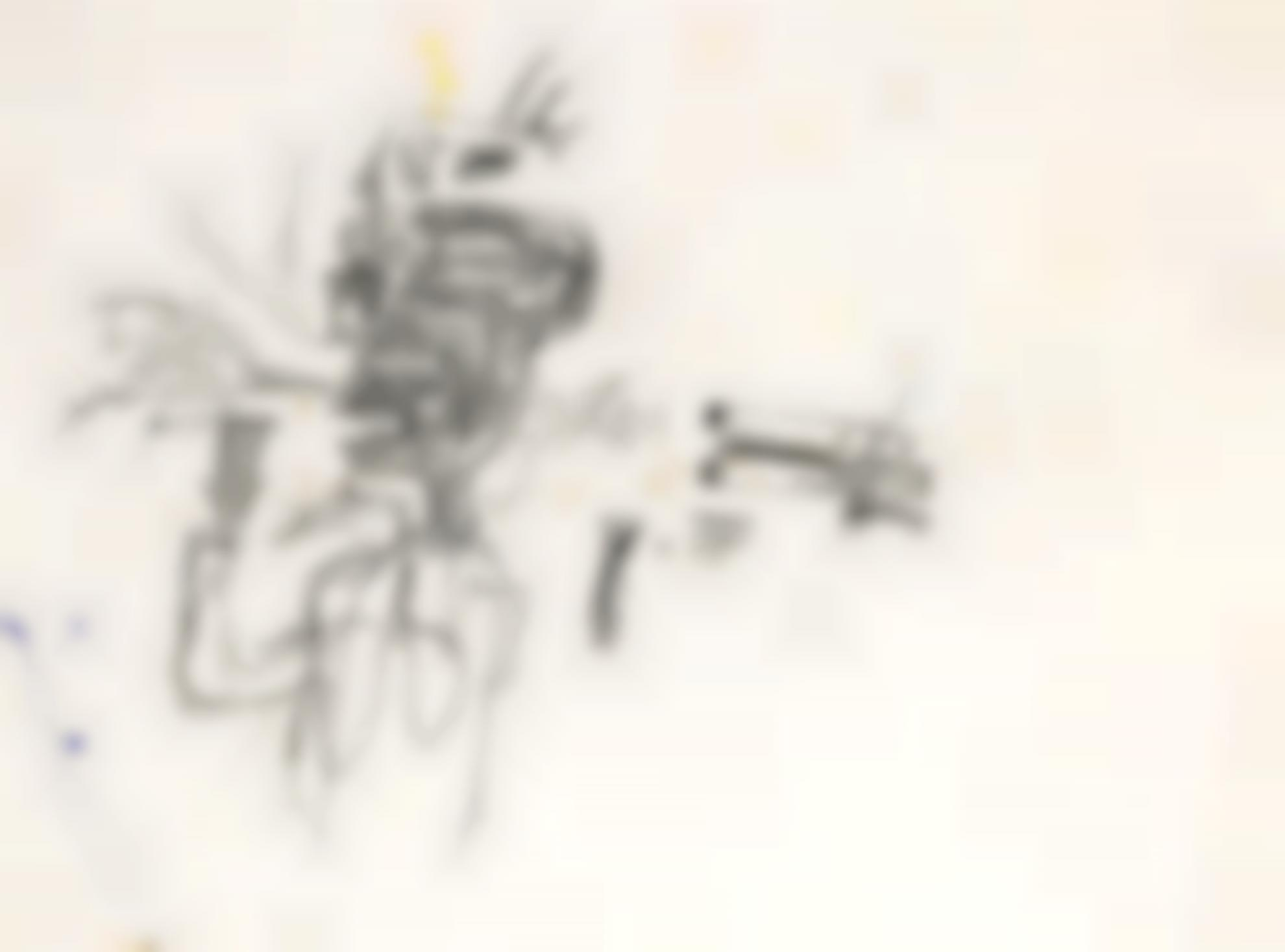 Jean-Michel Basquiat-Untitled (Tobacco)-1984