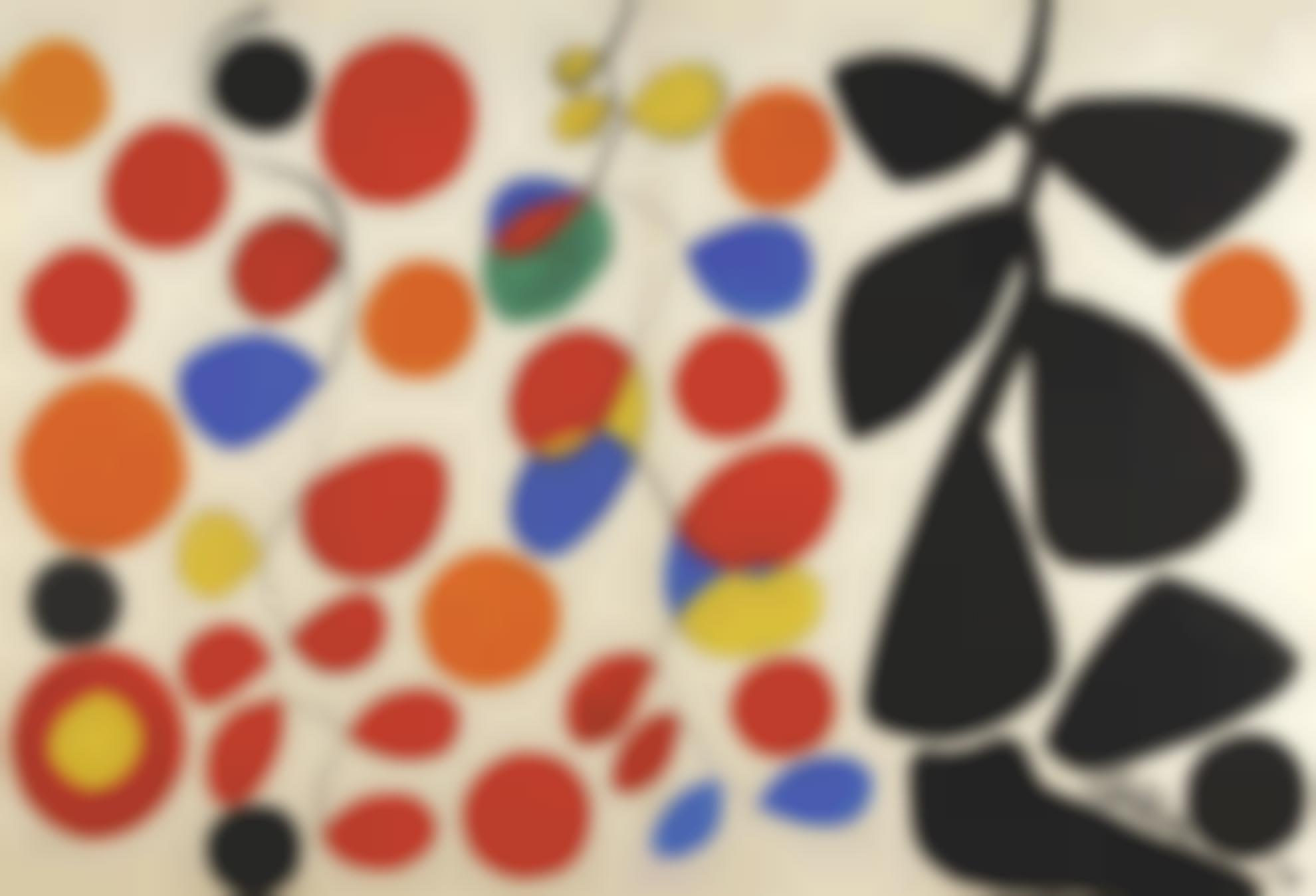 Alexander Calder-Hanging Spirals-1970
