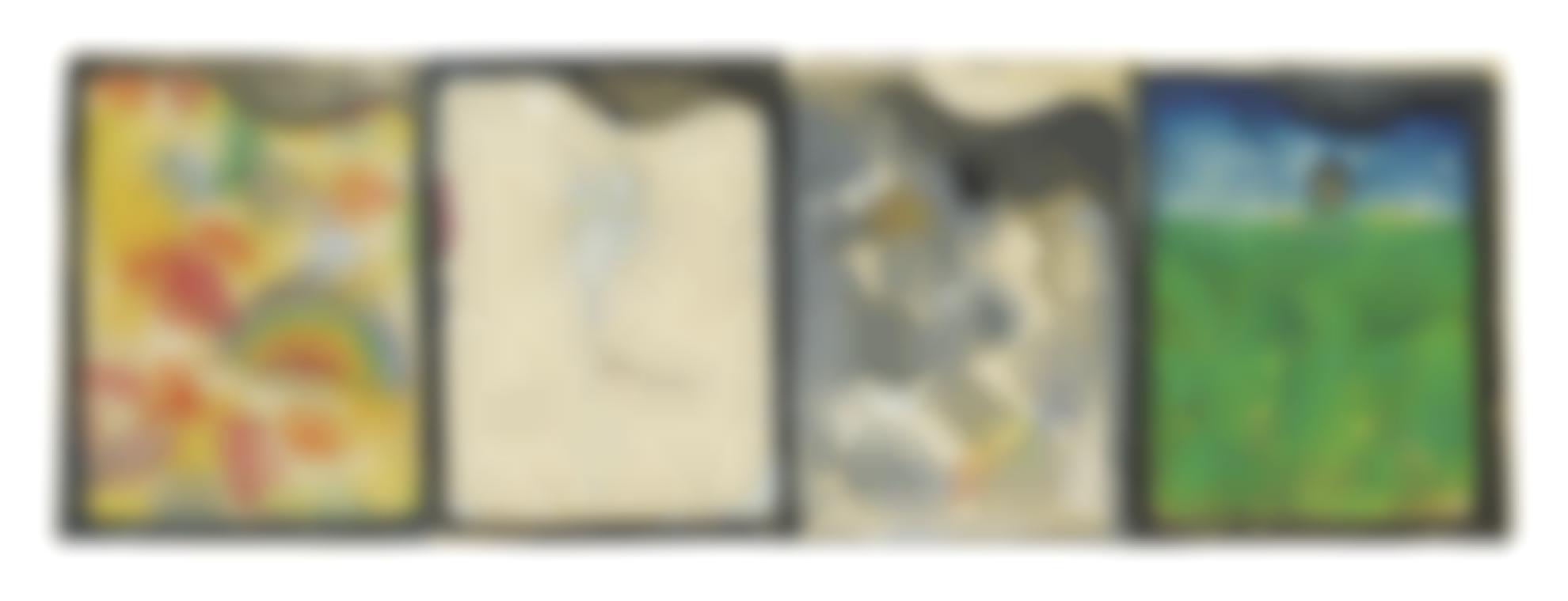 Jim Dine-Four Palettes-1963