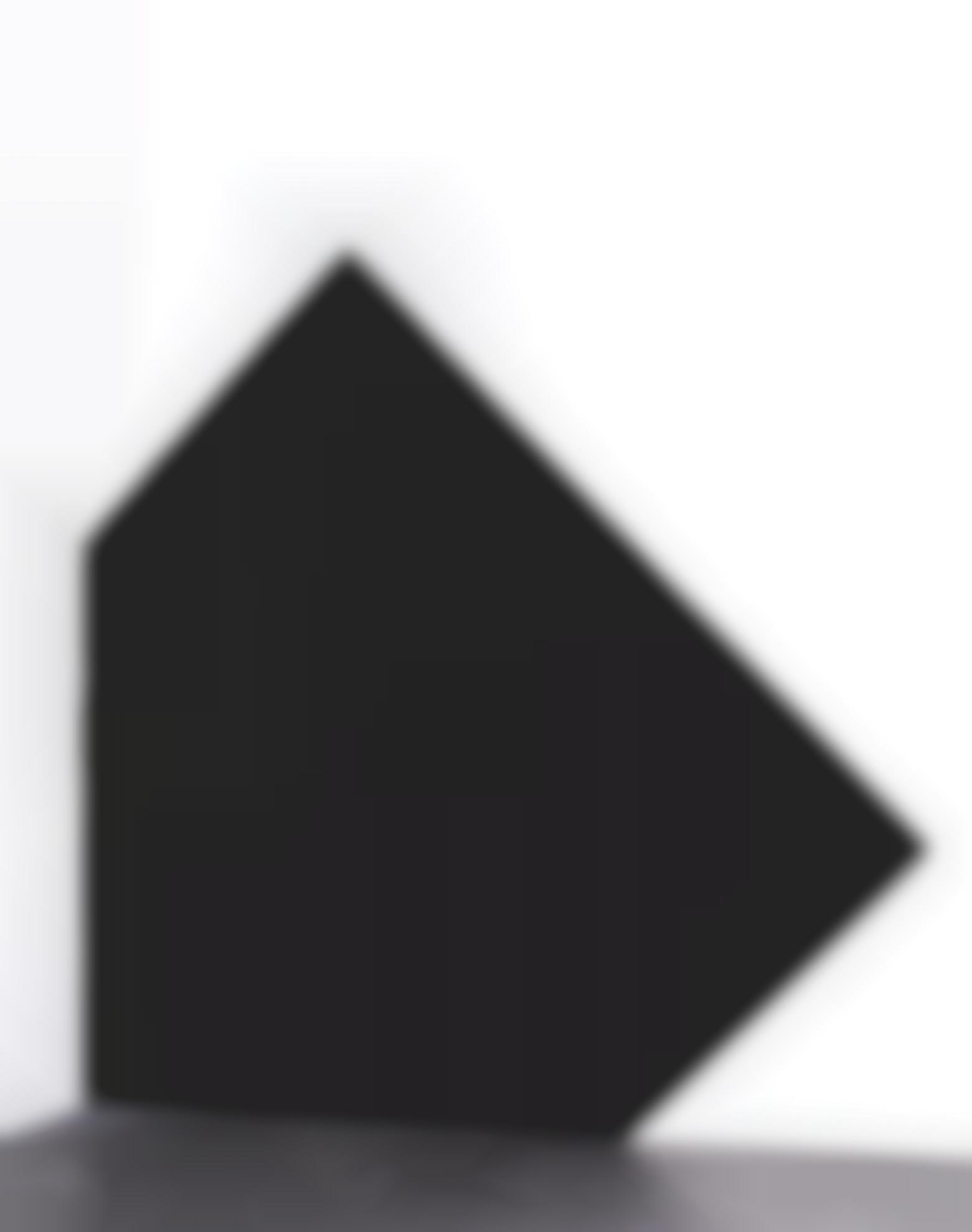 Richard Serra-Left Corner Square To The Corner (Five Sided)-1979