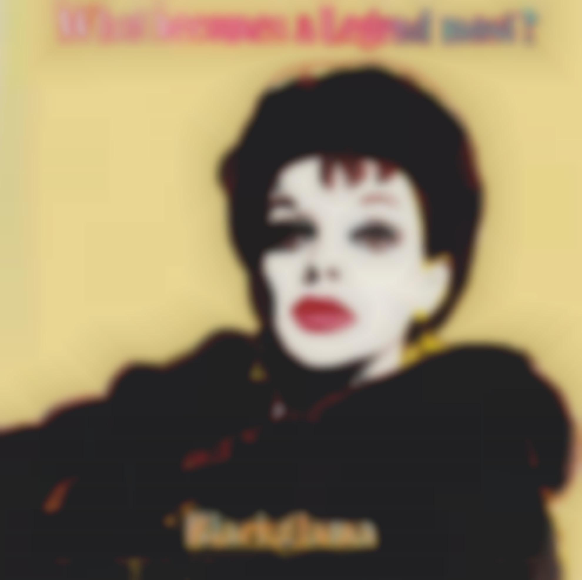 Andy Warhol-Blackglama (Judy Garland) (From Ads)-1985
