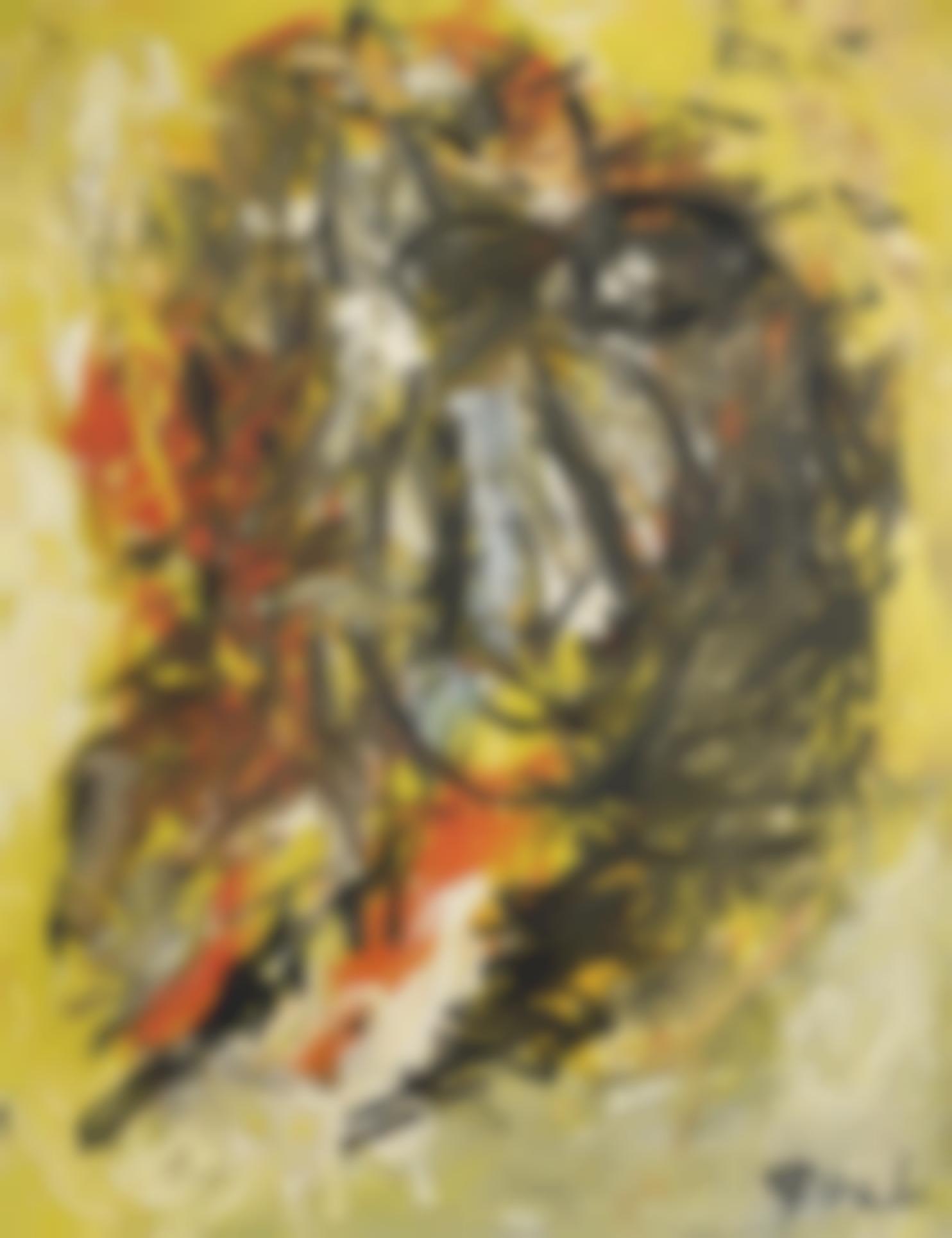 Karel Appel-Tete Jaune-1964