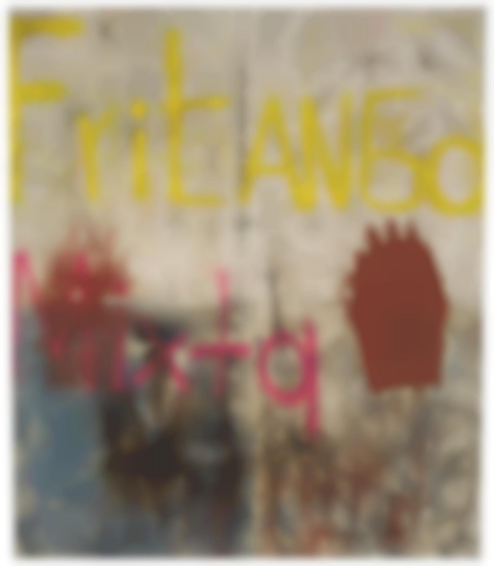 Oscar Murillo-Untitled (Fritanga Mixta)-2012