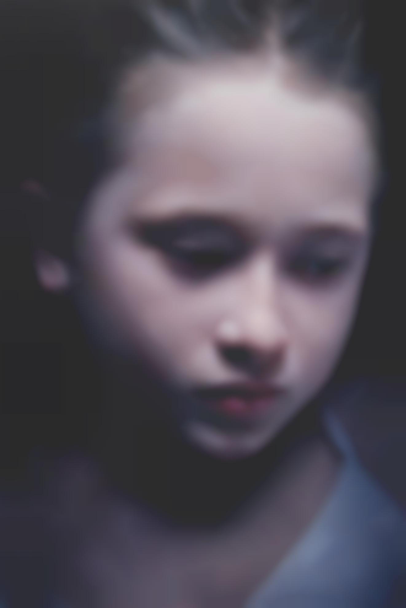 Gottfried Helnwein-Untitled (Payton 5)-2005