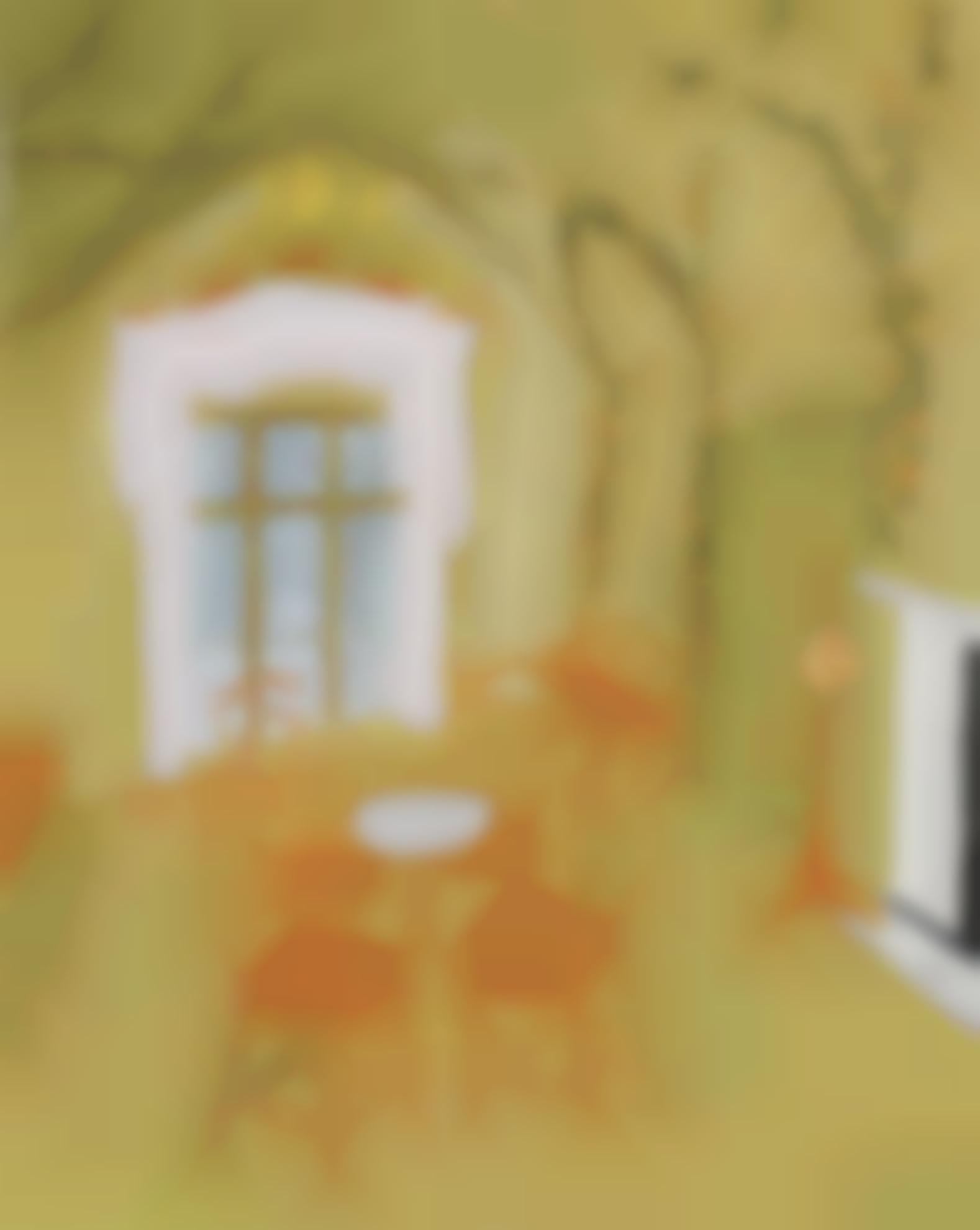 Karen Kilimnik-The Shepherdess Room, Half Dressed-2003