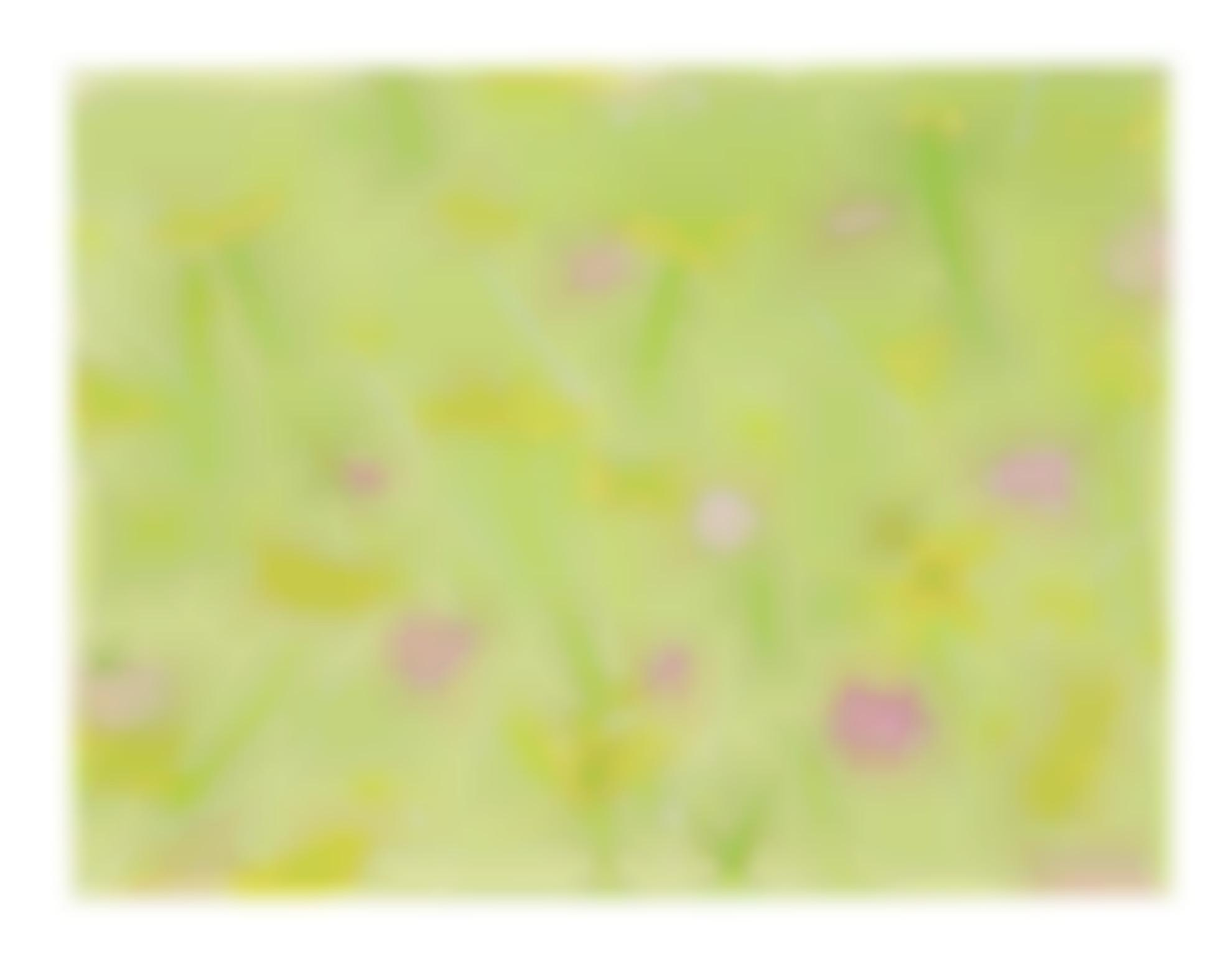 Alex Katz-Field Flowers On Light Green-2011