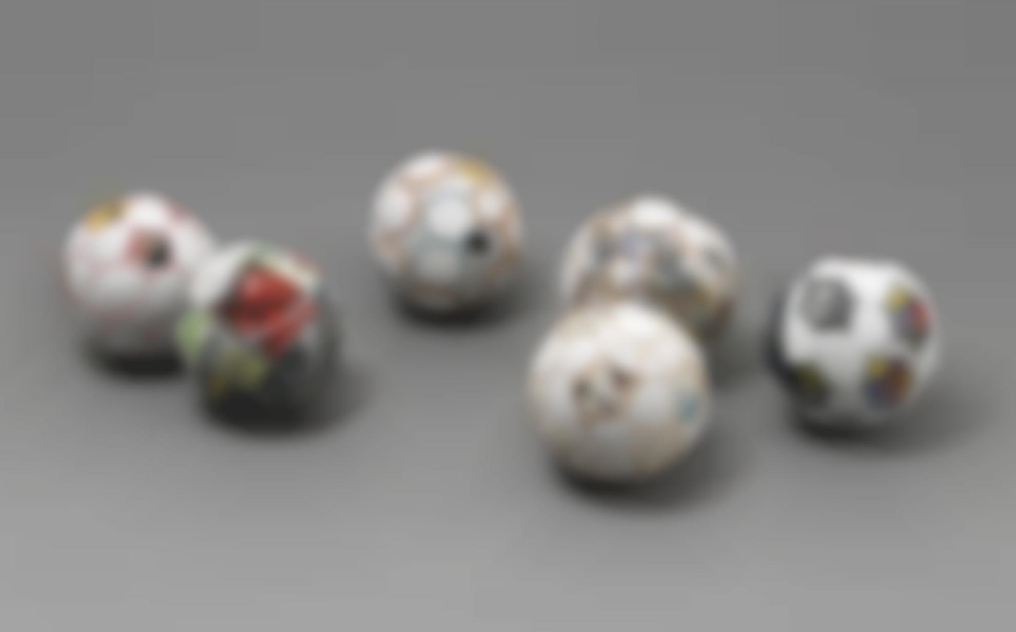 Mark Bradford-Soccer Balls-2004