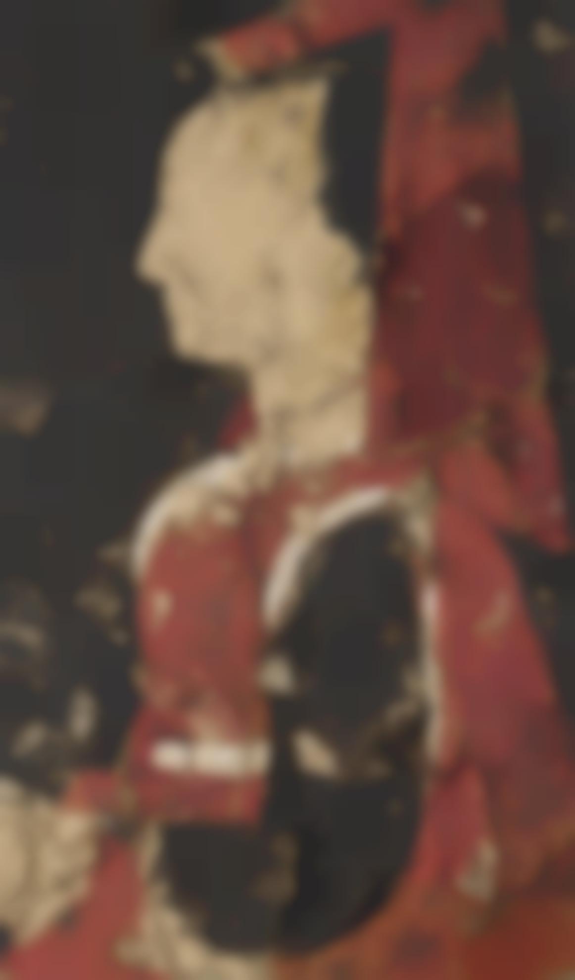 Manolo Valdes-Perfil De Mujer-1990