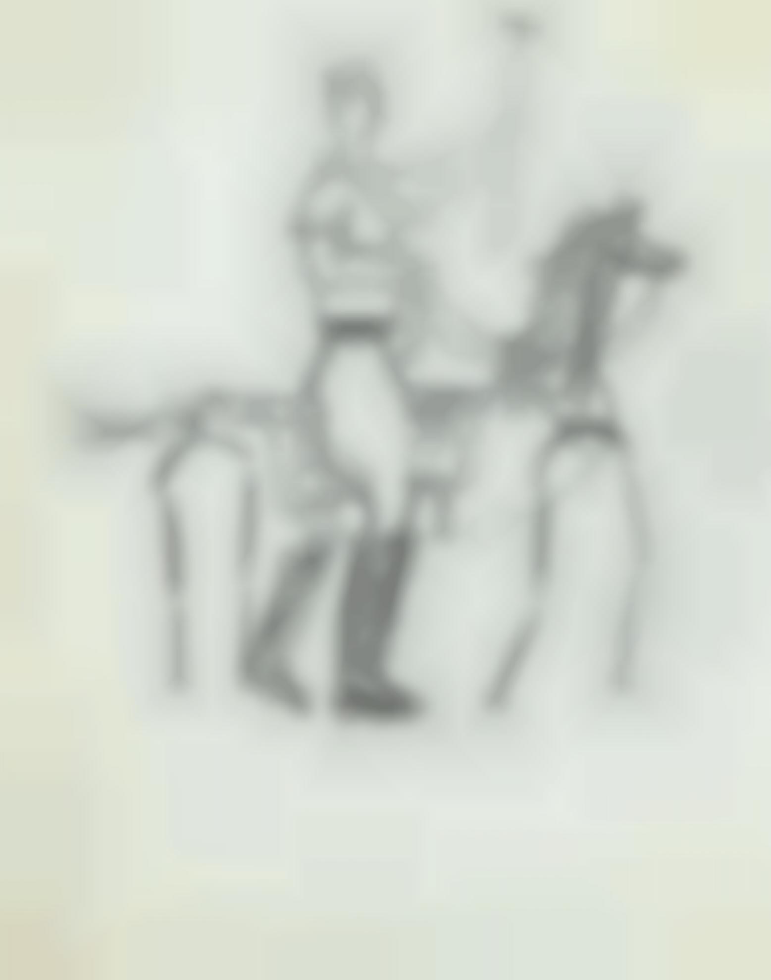 Pablo Picasso-Joueur De Polo-1919