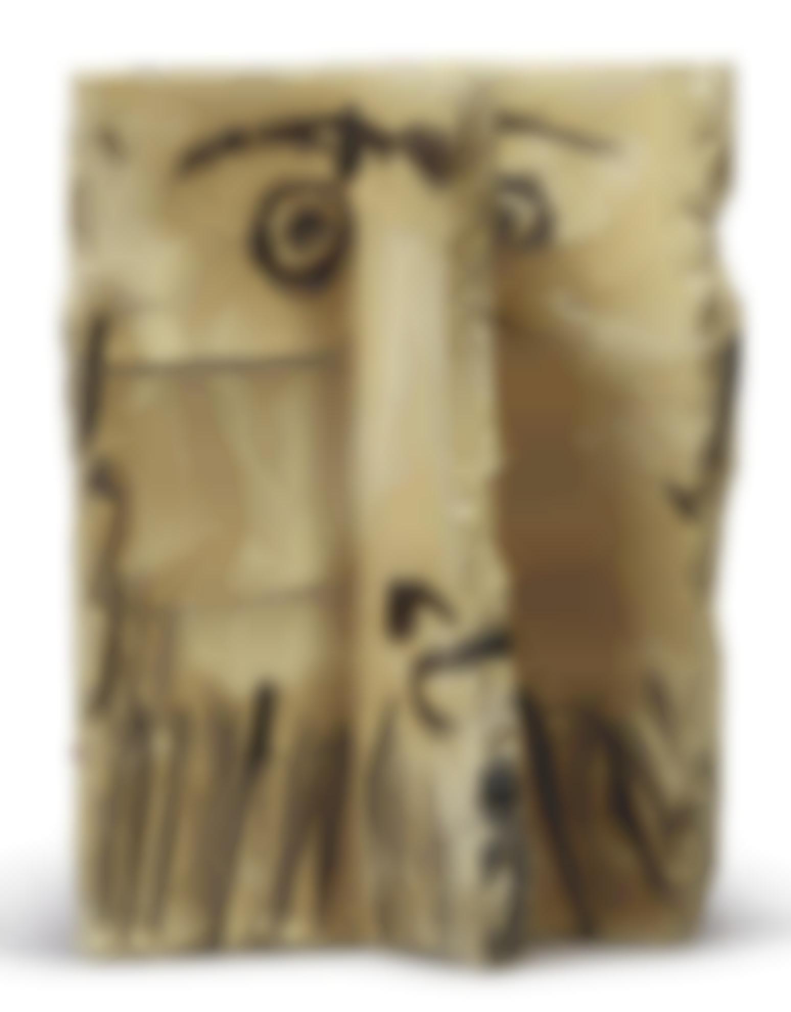 Pablo Picasso-Visage Dhomme Barbu-1962